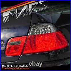 Smoked Red LED Tail Lights for BMW E46 99-02 Coupe 320ci 323ci 325ci 328ci 330ci