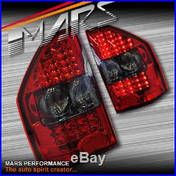 Smoked Red LED Tail lights for MITSUBISHI PAJERO 00-06 NM NP Taillight