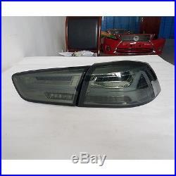 Somked LED Tail Lights 2008-2017 Mitsubishi Lancer/Evo X LED Rear lamp Assembly
