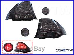 Somked Tail Lights+Rear Trunk Led Lights For LEXUS IS200 IS300 98-05 LED ALTEZZA