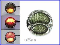 Stop Tail Lights & Indicators for Classic Retro Cars Chrome Vintage Style LED