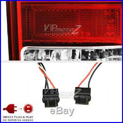 TRD STYLE Red LED Neon Tube Rear Tail Lights Brake Lamps 05-15 Toyota Tacoma