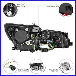 TRON STYLE DARKEST Smoke LED Tail Lights DRL Head Lamp 06-11 Lexus GS 430 450H
