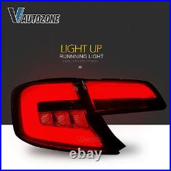 Tail Light For Toyota Camry 2012-2014 LED Brake Rear Stop Lamps Smoked lens Pair