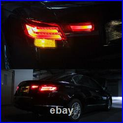 Tail lights LED Smoke Lens Rear Taillight Assembly Lamp Fit For Honda Accord 08+