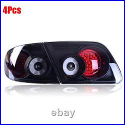 Tail lights LED Smoke Lens Rear Taillight Assembly Lamp Fit For Mazda 6 2003-15