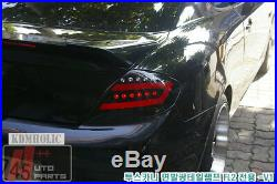 Two Plus Auto Surface Emitting LED Custom Taillights for Hyundai Tuscani WHITE