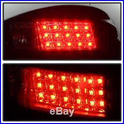 UPGRADE Black Smoked 1997-2003 Pontiac Grand Prix Lumiled LED Tail Lights Lamps