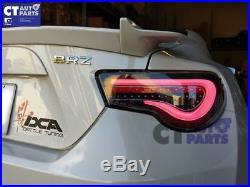 VALENTI Black LED Tail light for Toyota 86 FT86 GT GTS Subaru BRZ