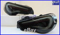 VALENTI SMOKED LED Tail light Toyota 86 GTS Subaru BRZ ZN6 Seqnential Blinker