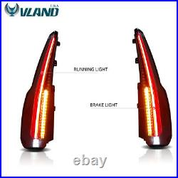 VLAND Fits For 2015-2020 GMC Yukon Tail Lights LED Brake Cadillac Escalade Style