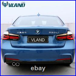 VLAND LED Tail Lights Smoked Fits For BMW 3 Series F30 2012-2015 LED Sequential