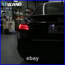 VLAND LED Tail Lights for Honda Accord 2008-2012 LED Rear Smoked Lens