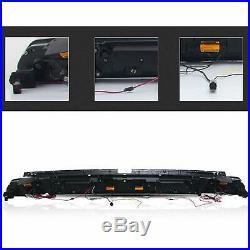 VLAND Pair Red LED Tail Lights For Dodge Challenger 2008-2014 LED Rear Lights