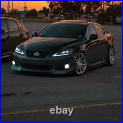 VLAND Pair Red Tail Lights & Headlights Fit For Lexus IS250 IS350 ISF 2006-2012