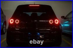 VW Golf LED ring Skyline style bicolor VW Golf mk5 GTI for Valeo Lights