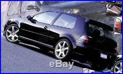 VW Golf MK4 4 Hella Black Smoke Euro E-Mark Tail Light Rear Lamp R32 Anniversary