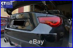 Valenti Smoke Red LED Tail light Toyota 86 GTS Subaru BRZ Seqnential Blinker