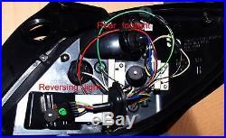 Vauxhall ASTRA H MK5 5 DOOR CRYSTAL BLACK LED REAR BACK TAIL LIGHTS