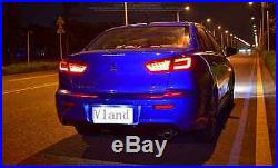 Vland LED Tail Lights 2008-2017 Mitsubishi Lancer/Evo X BMW Style Smoke Color