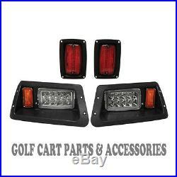 Yamaha G14-G22 Golf Cart LED Headlight & Tail Light Kit 1995-2007 Gas and Elec