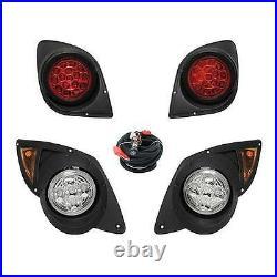 Yamaha G29 Drive Golf Cart LED Headlight & Tail Light Kit (2007-Up) Gas & Elec