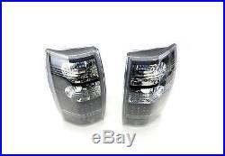# black LED tail lights for Holden Commodore VT VX VU VY VZ ute 1998-2006 pair
